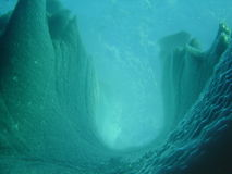 Iceberg underwater 4 Royalty Free Stock Photos