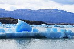 Iceberg at Upsala Glacier, Patagonia Argentina Stock Image