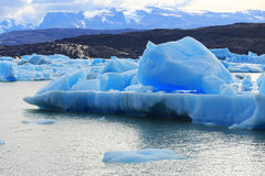 Iceberg at Upsala Glacier, Patagonia Argentina Stock Photos