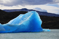 Iceberg at Upsala Glacier Stock Images