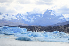 Iceberg at Upsala Glacier, Patagonia Argentina Stock Photo