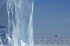Iceberg wall Royalty Free Stock Photography