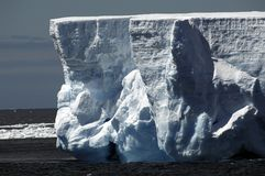 Iceberg walls Royalty Free Stock Image
