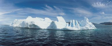 Iceberg and water Stock Image