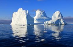 Iceberg, Water, Sea, Mirroring Royalty Free Stock Photography