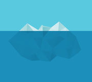 Iceberg in the water Royalty Free Stock Images