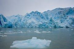 Iceberg y glaciar Fotografía de archivo