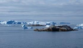 Iceberg, zona di Ilulissat, Groenlandia. Immagini Stock Libere da Diritti