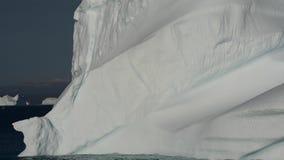Icebergin i Grönland stock video