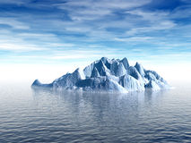 IceBergNew. Big antarctic  iceberg - 3d scene. More in my portfolio Stock Photos