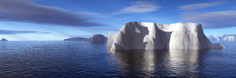 Icebergs Royalty Free Stock Photo