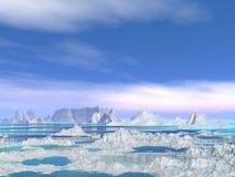 Icebergs Stock Photo