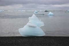 icebergs Imagen de archivo libre de regalías