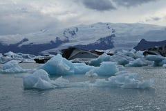 Icebergs. In the Jokulsarlon lagoon on Iceland Stock Photos