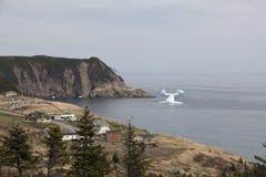 Icebergs along the Avalon Peninsula, Baccalieu Trail, Newfoundla Royalty Free Stock Photography