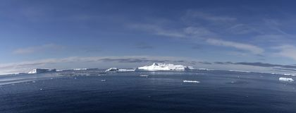Icebergs on Antarctica Stock Photo