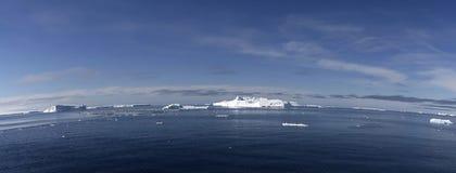 Icebergs on Antarctica. Icebergs floating in the Weddell Sea, Antarcitca Stock Photo