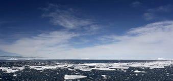 Icebergs on Antarctica Royalty Free Stock Photography