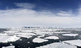 Icebergs on Antarctica Stock Photo