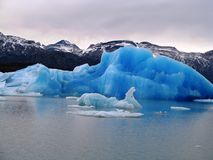 Icebergs, Argentina Stock Photo
