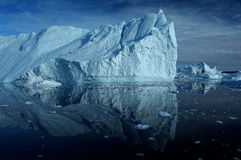 Icebergs au Groenland 4 Photographie stock