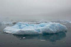 Icebergs azules Narsarsuaq Imagen de archivo libre de regalías