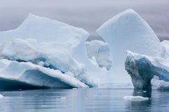 Icebergs azules Narsarsuaq Fotografía de archivo libre de regalías
