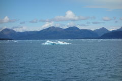 Icebergs on a bright sunny day. Stock Photography