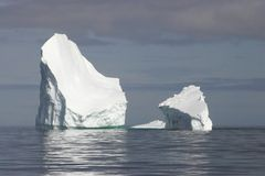 Icebergs de Ant3artida Imagen de archivo