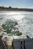 Icebergs de Bondi que nadan al club Fotografía de archivo libre de regalías