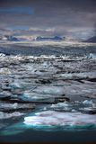 Icebergs de fusión Fotos de archivo libres de regalías