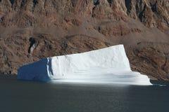 Icebergs de Groenlandia imagen de archivo libre de regalías