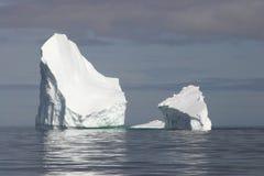 Icebergs de l'Antarctique Image stock