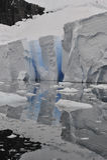 Icebergs en Antarctique Images libres de droits