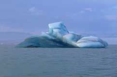 Icebergs en Islandia Fotografía de archivo libre de regalías