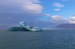 Icebergs en Islandia Fotografía de archivo