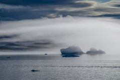 Icebergs en Narsuaq Foto de archivo libre de regalías