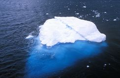 Icebergs in Errera Channel at Culverville Island, Antarctica Royalty Free Stock Photo