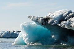 Icebergs floating in Jokulsarlon glacier lake, Iceland Stock Image