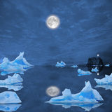 Icebergs. Royalty Free Stock Photo