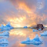 Icebergs. Stock Image