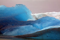 Icebergs from Glacier, Alaska Royalty Free Stock Photos