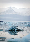 Icebergs at glacier lagoon Stock Photography