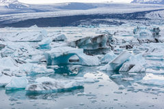 Icebergs Stock Photography