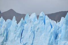 Icebergs at the glacier Perito Moreno. In Patagonia, Argentina royalty free stock image