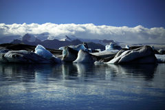 Icebergs and glaciers Royalty Free Stock Image