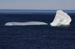 Icebergs in Great Brehat Stock Photos