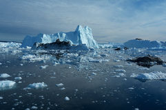 Icebergs in Greenland 11 Royalty Free Stock Photo