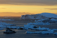 Icebergs in Greenland 27 Royalty Free Stock Images