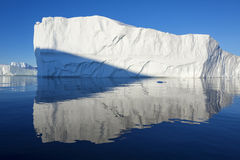 Icebergs. Huge icebergs.Travel on the scientific vessel among ices. Studying of a phenomenon of global warming. Importance of preservation of ecological balance stock photos